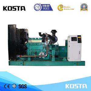 Dieselgenerator-Set mit dem Kabinendach angeschalten von Engine