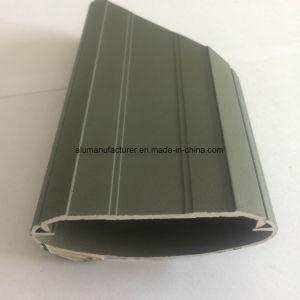 Quadrato, profilo rotondo e differente dell'espulsione della lega di alluminio per il portello e tubo 56 della finestra