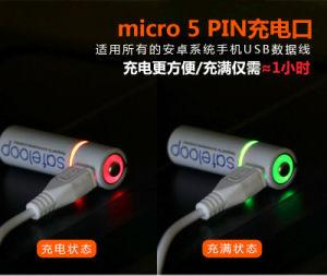 USB Li-ion recargable baterías AAA 1.5V 600mAh
