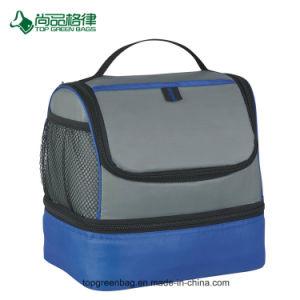 Isolation thermique en polyester de promotion des enfants bureau sac à lunch du refroidisseur