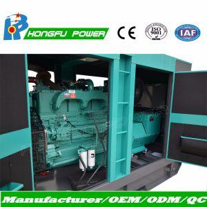385kVA 350kVA gerador a diesel com motor Cummins Nta855 G2a com canópia silenciosa