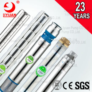 Liyuan 110V 60 Hz 4sp submersible de puits profond des pompes de puits