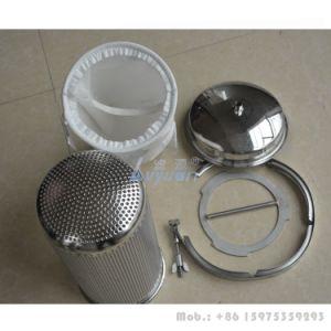 De industriële 304 Beste Huisvesting van de Filter van de Zak van de Huisvesting van de Filter van de Zak van de Prijs Vloeibare Enige pp voor de Filtratie van het Bier