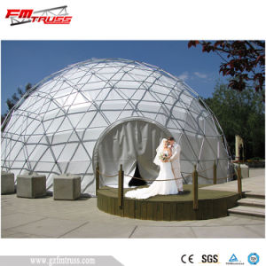 Tenda esterna galvanizzata calda della cupola del PVC dell'acciaio per la cerimonia nuziale