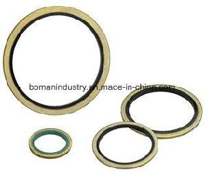 Guarnizione di gomma legata della guarnizione della guarnizione di alta qualità NBR FPM S316 nel formato di pollice