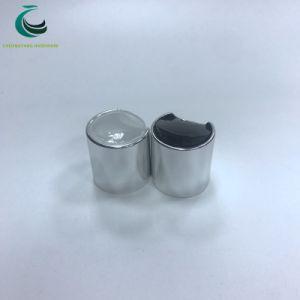 Or en aluminium 24/410/Sliver Appuyez sur DISC Haut bouchon de bouteille de cosmétique