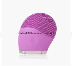 Extractor de espinillas resistente al agua de lavado de cara limpieza exfoliante Facial de silicona Sonic Cepillo de limpieza