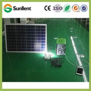 Su uso en casa Portable 6W DC Mini sistema de Energía Solar