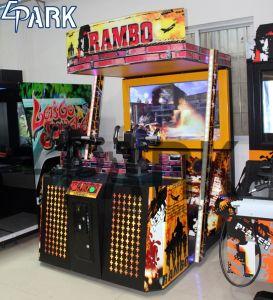 Rambo2ビデオ機関銃Eletctronicの射撃のゲーム・マシン