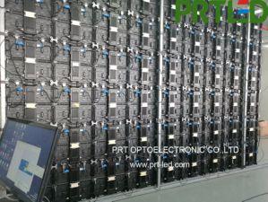 L'aluminium Die-Casting P3.91 Indoor Afficheur à LED avec panneaux 500 * 500 mm