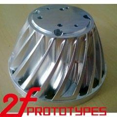 Modelo de Prototipagem Rápida e o protótipo de metal CNC, usinagem de protótipo