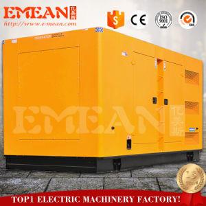 Для тяжелого режима работы 500 ква звуконепроницаемых дизельный генератор с сертификат CE