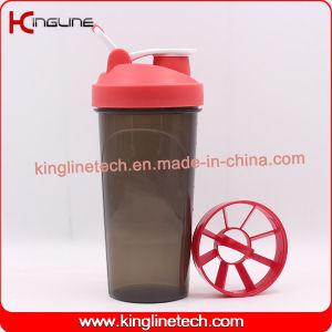 25oz/700ml protein shaker bottle with plastic sieve (KL-7033D)