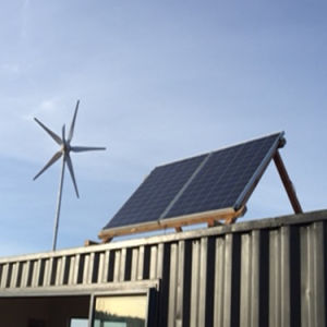150 Вт, 400 Вт солнечной энергии ветра гибридная система питания
