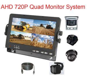 720p Systeem van de Monitor van de Mening van de Vierling 7inch Ahd het Gespleten Achter