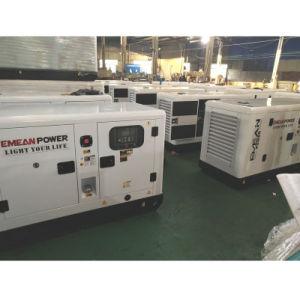 ブランド力の電気開始7kw 8kVAの無声ディーゼル発電機Genset