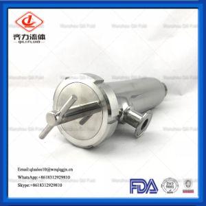 水およびミルクの処置のための食品等級のステンレス鋼油圧フィルター