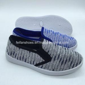 Nuevo estilo de los niños de la inyección zapatos casual Zapatos de lona (ZL0425-8)