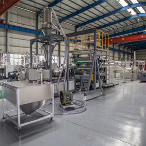 Fiche de marbre de la machine en PVC PVC imitation marbre Extrusion de feuilles d'extrudeuse de la machine