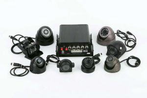 3G /4G HD 720p 4CH Mdvr für Auto CCTV-System Mini-Ableiter-Karte für LKW