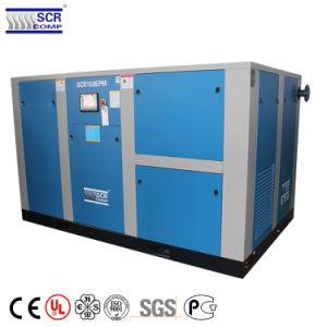 Leistungsfähigkeits-Dauermagnetbewegungsschrauben-Luftverdichter Störungsbesuch-110kw