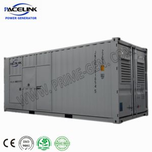 generatore diesel insonorizzato autoalimentato MTU 800kVA con Ce/ISO