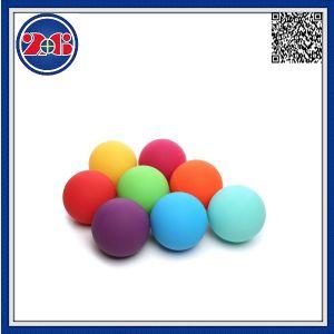 Wholesale Alta calidad de impresión gimnasio masajes bolas de goma EVA de lacrosse