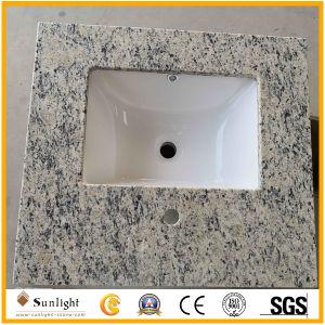 Parti superiori all'ingrosso di vanità del granito della Santa Cecilia per la stanza da bagno