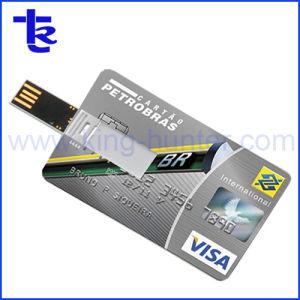 細いビジネス作業のためのクレジットカードUSBのフラッシュ棒