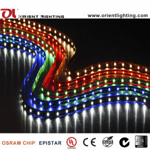 Ce SMD 1210 dell'UL indicatore luminoso di striscia flessibile di 60 LEDs/M LED