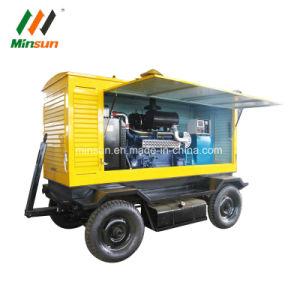 건축기계를 위한 디젤 엔진 힘 트레일러 발전기