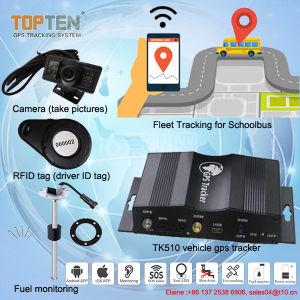 Kamera-Fahrzeug GPS-Verfolger mit RFID Kennzeichen über dem Schnellfahren (TK510-EZ)