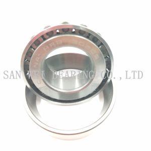 Rodamiento de rodillos cónicos de acero cromado de la jaula de acero de buena calidad, precio competitivo