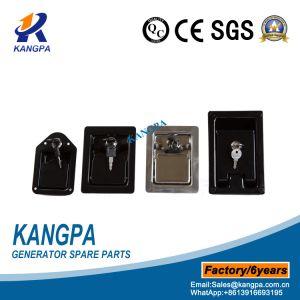 Armoire du générateur de serrure de porte de palette avec revêtement poudré noir
