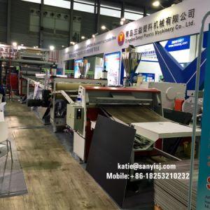L'utilisation commerciale rigide résistant au feu les carreaux de revêtement de sol SPC de base de décisions de la machinerie