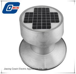 Aluminium gelegierter SolarVentialtion Ventilator mit dem 9 Watt-Sonnenkollektor