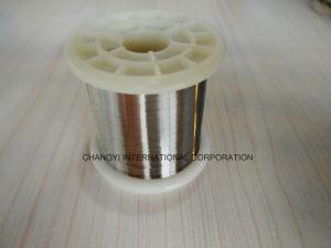 純粋なニッケルワイヤー0.025mm直径N6の等級99.6%の満足なニッケル