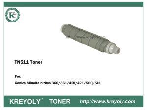 Konica Minolta TN511 TONER FÜR BIZHUB 360/420/361/500/501/501/421
