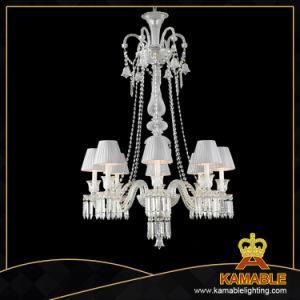 A sala de jantar moderna Lustre Pendente de vidro da lâmpada (KAMZ0726-8WS)