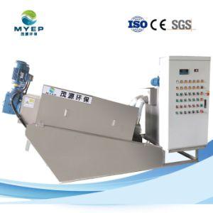 Máquina de desidratação de lamas municipais para tratamento de lamas fecal