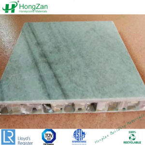 壁のクラッディングのための大理石の石造りの蜜蜂の巣の合成のパネル