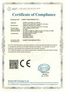 UL CE 3000K Osram5630 IP20 24W/M 12V luz de LED