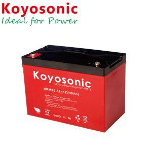 12V 80Ah batería de gel de plomo-ácido para el sistema de telecomunicaciones