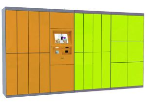 De hete Kast van de Wasserij van het Gebruik van het Bureau van de Deur van de Verkoop Multi Elektronische met het Platform van de Afstandsbediening