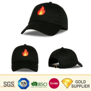 洗浄されたブラシをかけられた刺繍のロゴのデニムの綿のチノのあや織りポリエステルMicrofiberの野球帽を競争させる2018年の中国の製造業者のカスタムバイザーの偶然のゴルフスポーツ