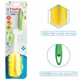 BPA liberano la spazzola di lavaggio delle bottiglie del bambino con la maniglia di plastica