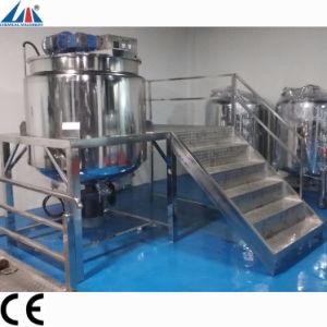 Mesa de mezclas de productos cosméticos de la máquina de maquinaria de mezcla