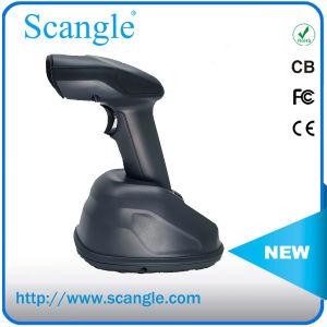 Ordinateur de poche laser longue distance Barcode Scanner avec socle de recharge