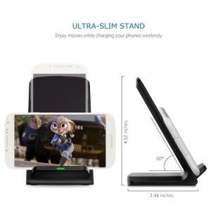 Accessori Q700 Qi che si leva in piedi il basamento senza fili del caricatore di 5V 2A per Smartphone