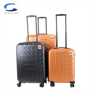 Des Soem-29  Spinner-Rad-Walzen-Arbeitsweg-Koffer-Laufkatze orange PC weitermachen leichte harte Shell Tsa Verschluss-Doppelt-Griff-4 grosses Kapazitäts-Gepäck